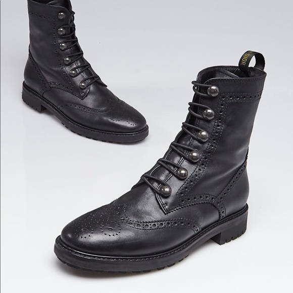 Shoes   Dior Inspired Combat Boots